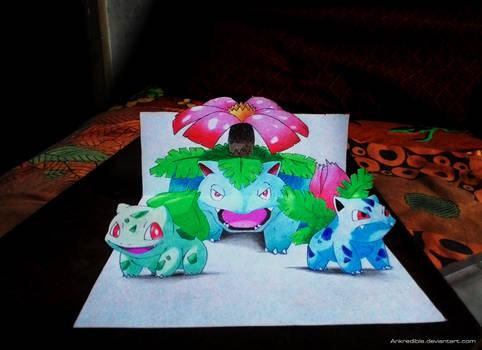 Bulba family (3D Drawing)