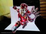 Ironman - 3D drawing