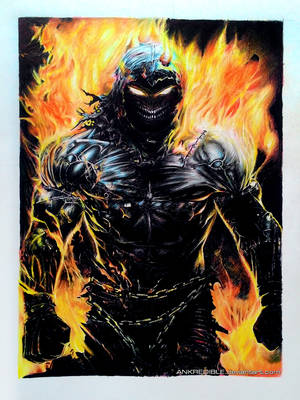 I'm Indestructible - color pencil drawing by Ankredible