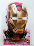 Ironman (Color Pencil Drawing)