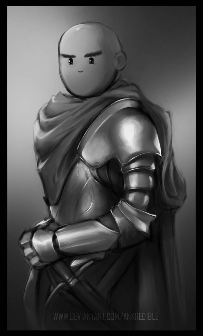 Knight (study+practice) by Ankredible