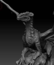 WiP Drake sculpt