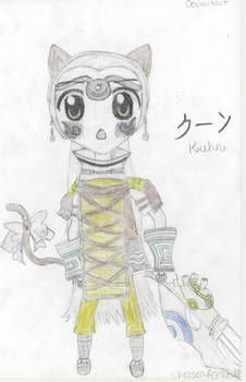 Chibi Kitty Dot Hack Kuhn