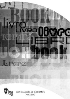 Cartaz Bienal do Livro