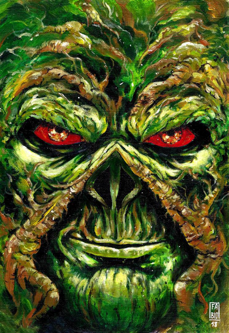 Swamp Thing by fsgu