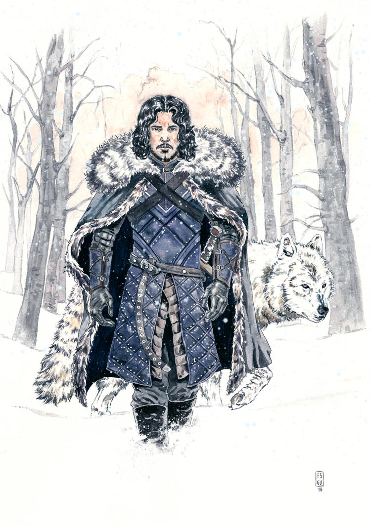 Jon Snow 2 by fsgu