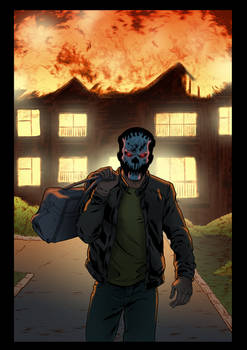 The Damned splash page