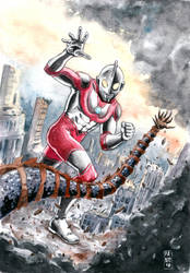 Ultraman by fsgu
