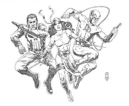 Marvel Knights (penciled)
