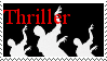 Thriller Stamp by Level100JediGirl