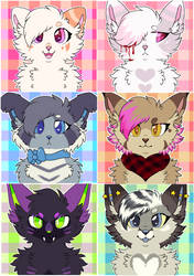 + Artfight Character Icons +