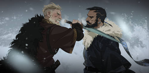 Einar and Jabari by Ita-chaaan
