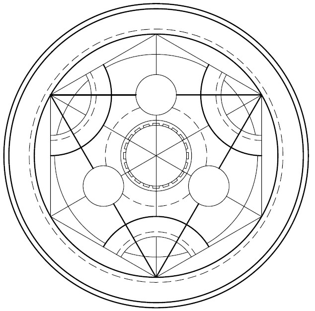 Alchemy Symbols And Meanings Fullmetal Alchemist Images Free Download