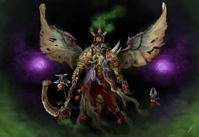 Mortarion by VaIube