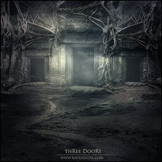 Three Doors by AlexandraVBach
