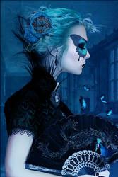Night Butterfly by AlexandraVBach