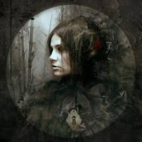 Face of Melinda by AlexandraVBach