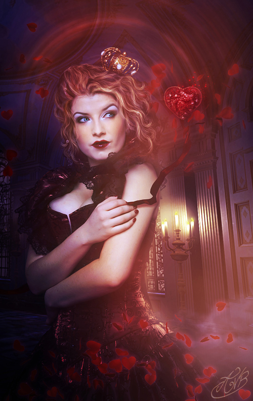 Queen of Hearts by AlexandraVBach