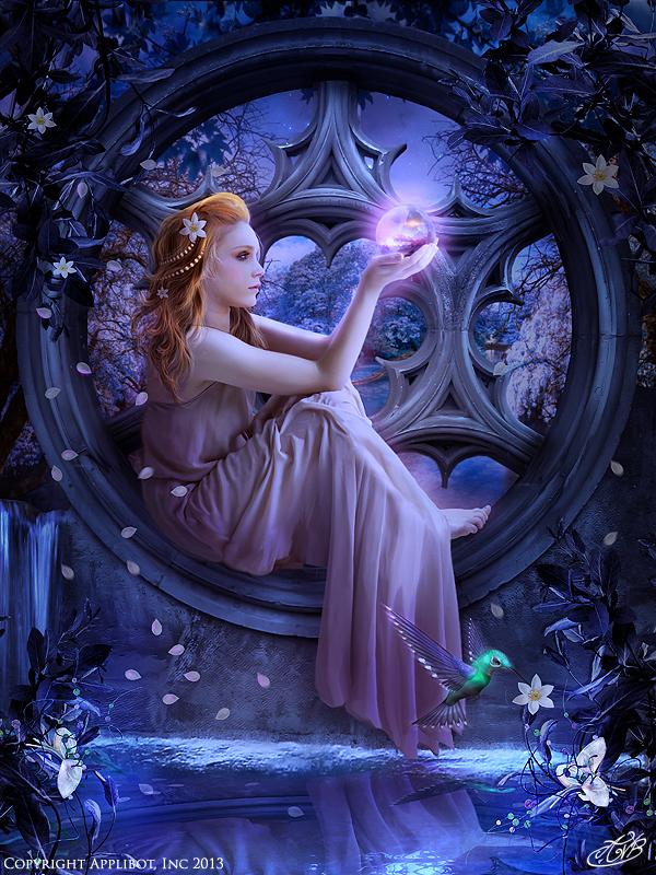 Transcendental Claire (regular) - Applibot by AlexandraVBach