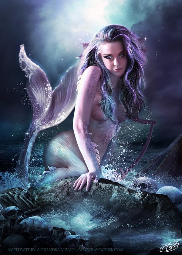 Amethyste by AlexandraVBach
