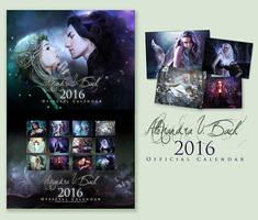 Alexandra V.Bach 2016 Calendar by AlexandraVBach
