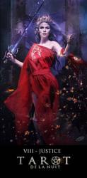 Tarot de la Nuit -  VIII Justice by AlexandraVBach