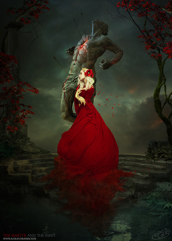 The Martyr and the Saint by AlexandraVBach