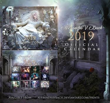 Alexandra V.Bach 2019 Calendar