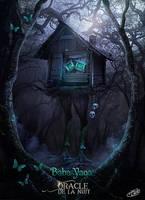 Oracle de la Nuit : Baba Yaga by AlexandraVBach