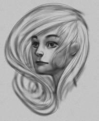 portrait practice from imagination