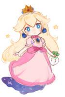 Princess Peach by Sketch-Bunn