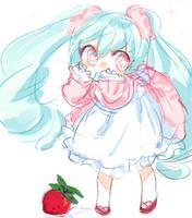 Strawberry Cream by Sketch-Bunn