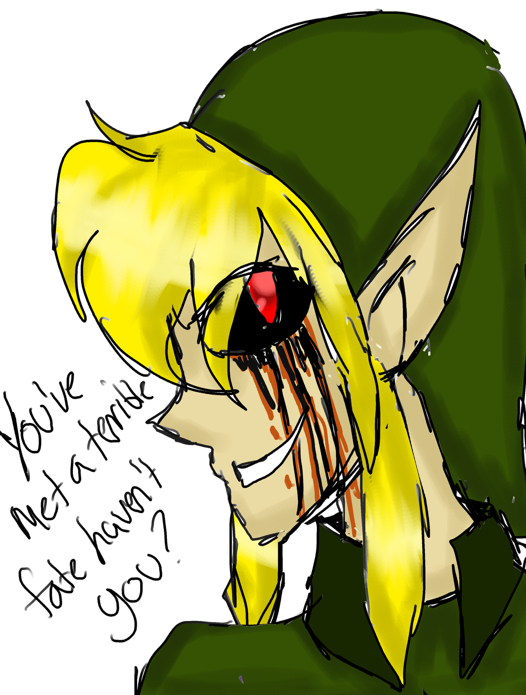CANON CREEPYPASTA: BEN Drowned by InvaderIka on DeviantArt