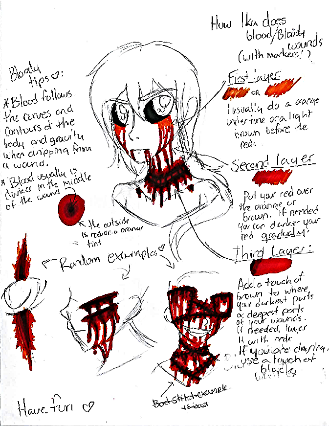 TRADITIONAL TUTORIAL: Ika's Blood Tutorial by InvaderIka