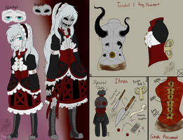 CP OC REFERENCE REDUX: Slender Doll Ally by InvaderIka