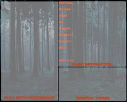BASE: Slenderverse/Proxy Reference Sheet Template by InvaderIka