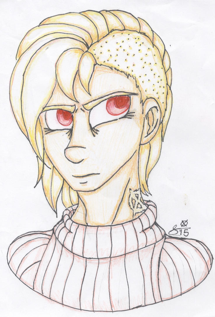 SV OC COLORED TRADITIONAL:  White Hare: Unmasked by InvaderIka