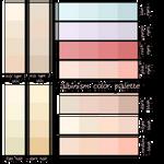 F2U: Albinism   Color Palette