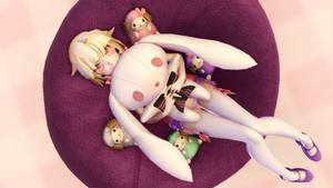 [MMD] Sweet Little Vanilla Mochi by InvaderIka