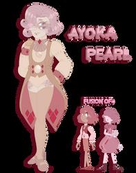 SU FUSION REFERENCE: Ayoka Pearl by InvaderIka