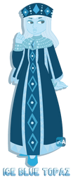PAYPAL ADOPT: Ice Blue Topaz [OPEN] by InvaderIka