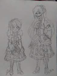 CREEPYPASTA OC: Little Doll | Slender Doll Ally