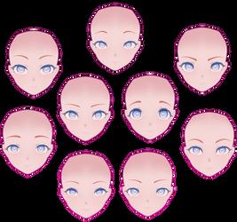 MMD: All My Sour Face Edits (So Far) | Models WIP