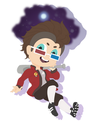 TF2 DIGITAL CHIBI: The Doctor is in!   TF2 Scout