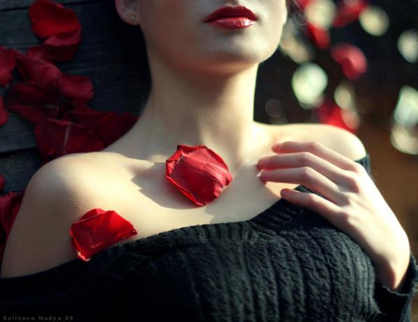 Red lips by NadyaBird - Avatar Bulmaca