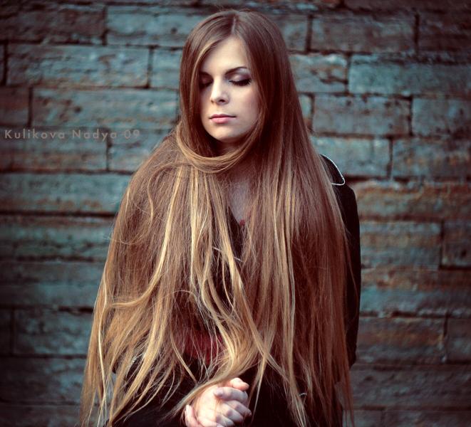 Long  long hair by Nad...