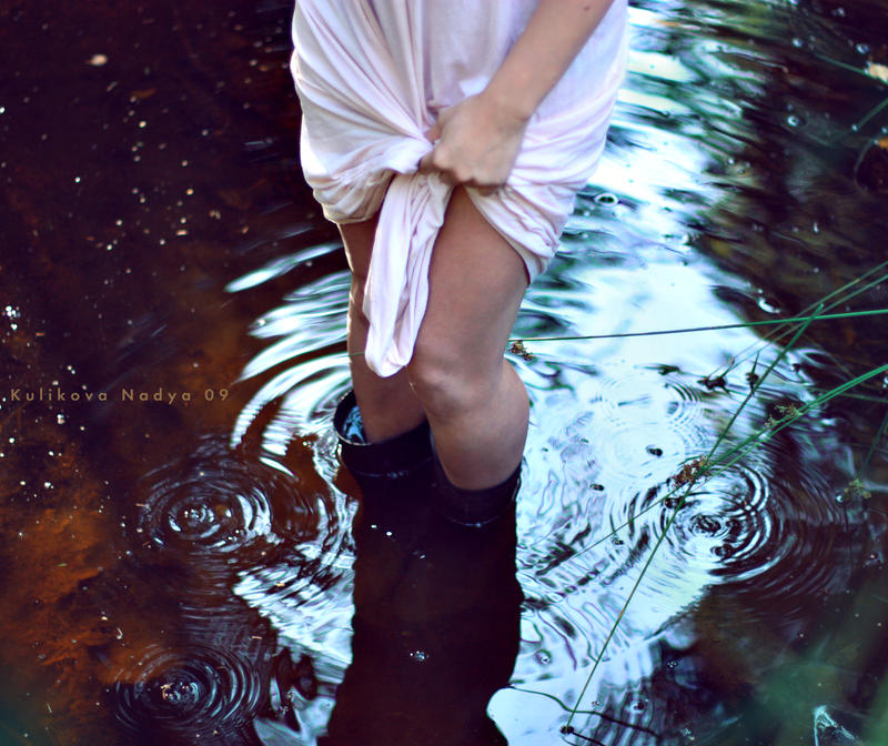 water by NadyaBird