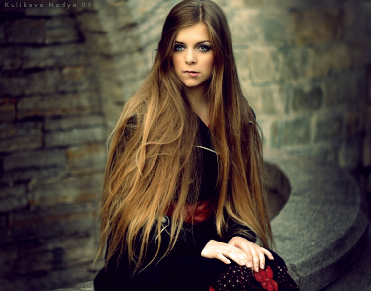 Long, long hair 3 by NadyaBird