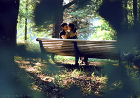 kiss by NadyaBird