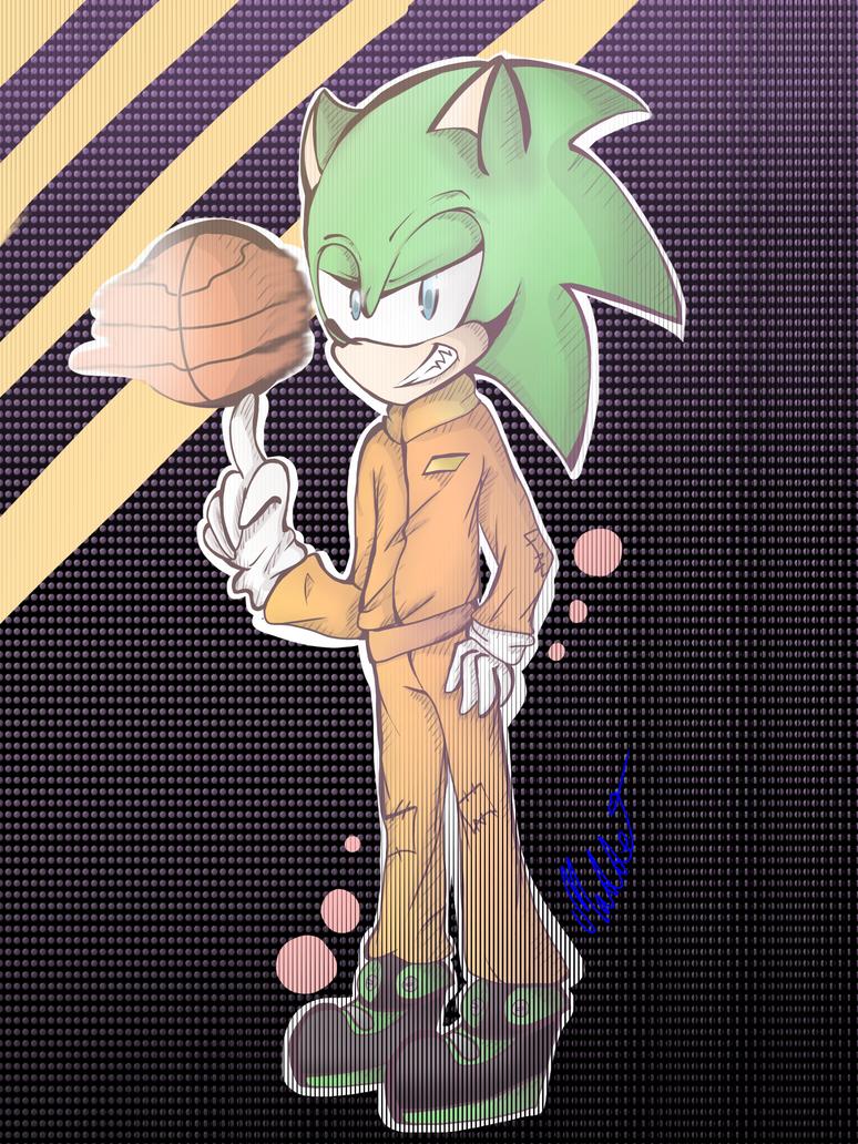 scourge the hedgehog by mangamaddee